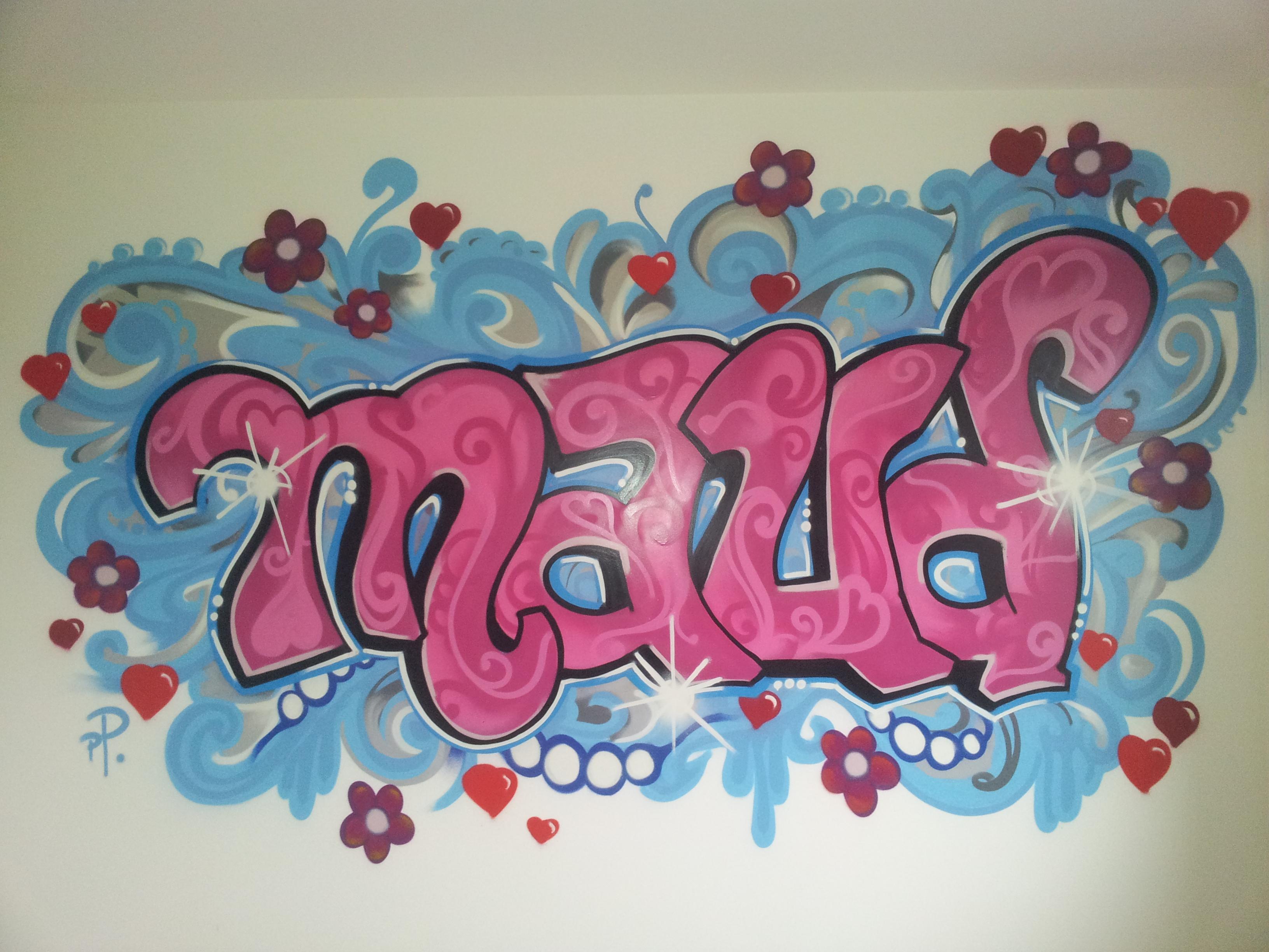 Graffiti maud 123 graffiti